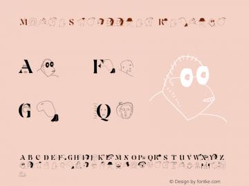 MouseScribbles Regular 1.0 2003-06-05图片样张