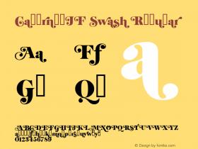 CabernetJF Swash Regular Macromedia Fontographer 4.1.4 6/12/03图片样张