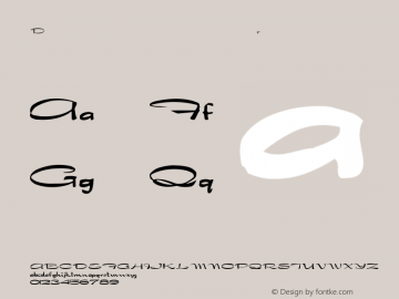 Dragonwick Regular Converted from F:\WINDOWS\TTFONTS\DRAGON.TF1 by ALLTYPE Font Sample