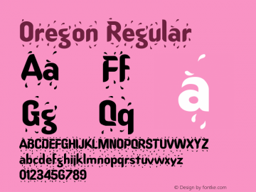 Oregon Regular Altsys Metamorphosis:4/16/92图片样张