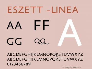 Eszett -Linea 1.000图片样张