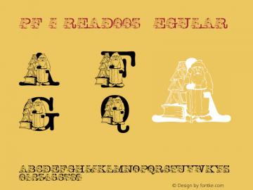 pf_i_read003 Regular 2001; 1.0, initial release图片样张