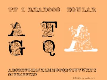 pf_i_read006 Regular 2001; 1.0, initial release图片样张