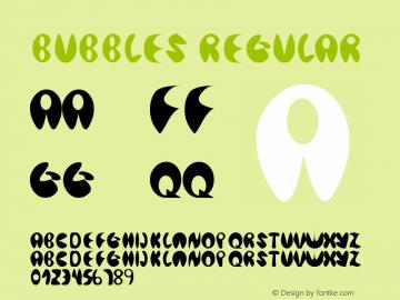 Bubbles Regular Version 1.02 Juni 26, 2007图片样张