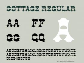 Cottage Regular v1.0c图片样张