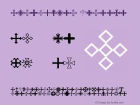 Apocalypso Crosses Version 001.000 Font Sample