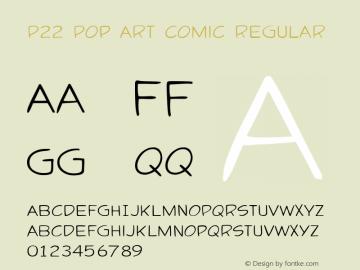 P22 Pop Art Comic Regular Version 1.00图片样张