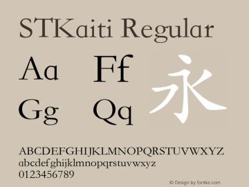 stkaiti font