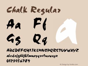 Chalk Regular v1.0c图片样张