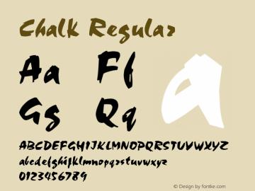 Chalk Regular 001.003图片样张