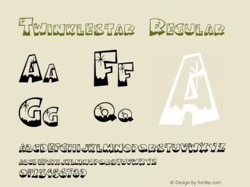 Twinklestar Regular Version 1.000 Font Sample
