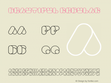 Beautiful Regular Version 1.00 August 16, 2011, initial release Font Sample