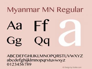 myanmar mn