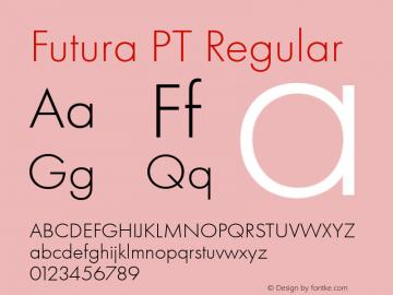 Futura PT Font,Futura PT Regular 6 Font,FuturaPT-Regular6 Font
