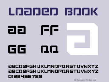 Loaded Book Version 1.00图片样张