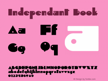 Independant Book Version 1.0; 2000;图片样张