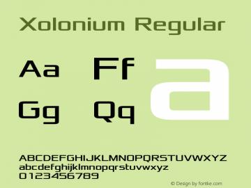 Xolonium Regular Version 2.1图片样张
