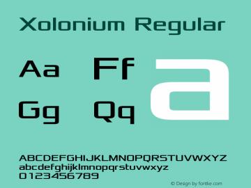 Xolonium Regular Version 2.2图片样张