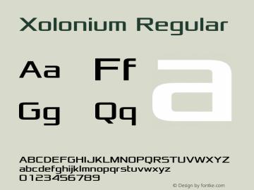 Xolonium Regular Version 2.3图片样张