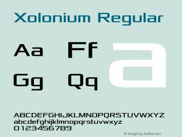 Xolonium Regular Version 2.4图片样张
