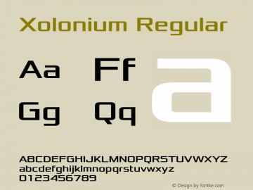 Xolonium Regular Version 3.0图片样张