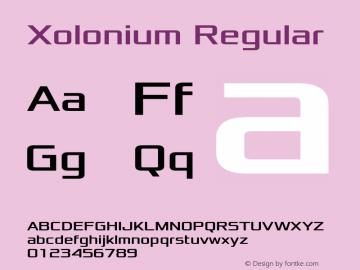 Xolonium Regular Version 3.1图片样张