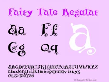 Fairy Tale Regular Version 1.000 2008 initial release图片样张