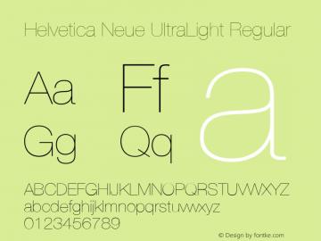 Helvetica Neue UltraLight Font,HelveticaNeue-UltraLight Font
