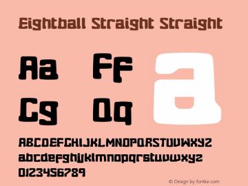Eightball Straight Straight Version 1.00 2012图片样张