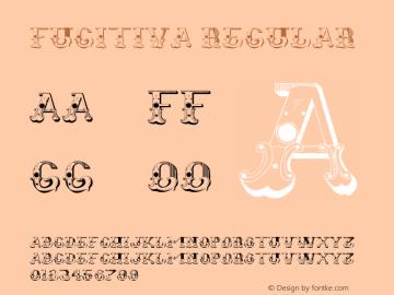 Fugitiva Regular Version 1.00 January 14, 2013, initial release图片样张