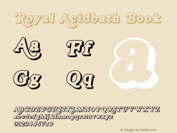 Royal Acidbath Book Version email: maddhatter_dl图片样张
