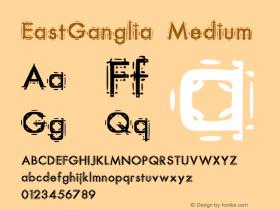 EastGanglia Medium Version 001.000图片样张