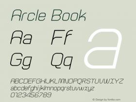 Arcle Book 1.000图片样张