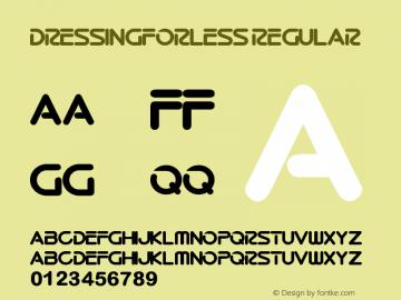 DressingForLess Regular Version 1.00 June 15, 2013, initial release图片样张