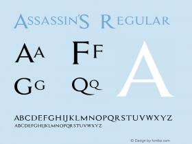 Assassin$ Regular Version 1.000 2013 initial release图片样张