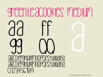 Greenteacookies Medium Version 001.000图片样张
