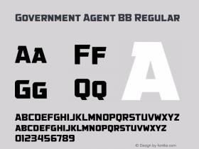 Government Agent BB Regular Version 1.000图片样张