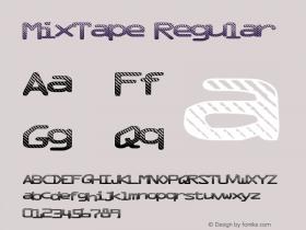 MixTape Regular Version 1.00 June 16, 2013, initial release图片样张