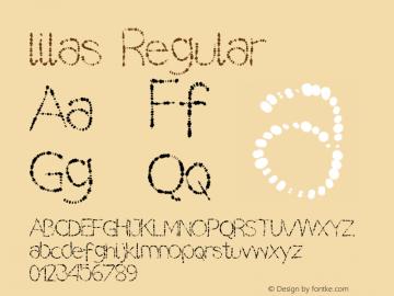 lilas Regular Version Version 1.000 2013 i图片样张