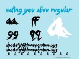 Eating You Alive Regular Version 1.00 June 17, 2013, initial release图片样张