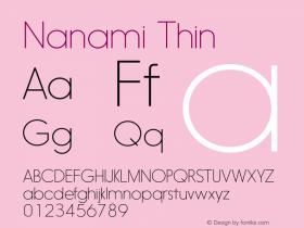 Nanami Thin Version 1.000图片样张