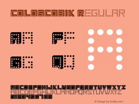 COLOSCOBIK Regular Version 001.000图片样张