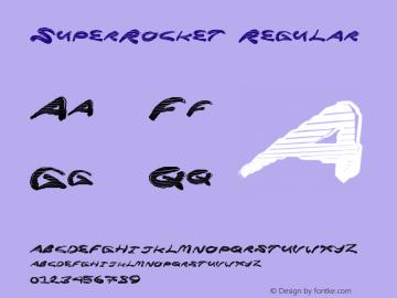SuperRocket Regular Version 1.00 June 17, 2013, initial release图片样张