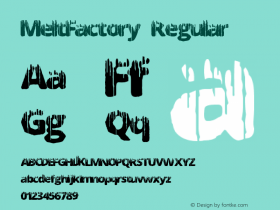 MeltFactory Regular Version 1.00 June 17, 2013, initial release图片样张