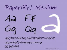 PaperGirl Medium Version 001.000图片样张