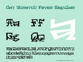 Cat Scratch Fever Regular Version 1.001;PS 001.001;hotconv 1.0.70;makeotf.lib2.5.58329图片样张