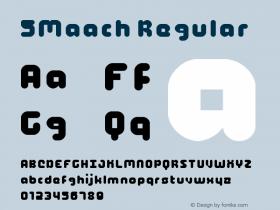 5Maach Regular Version 1.0图片样张
