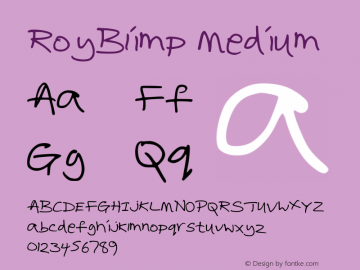 RoyBlimp Medium Version 001.000图片样张