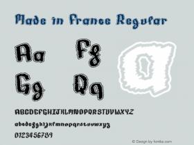 Made in France Regular Version 001.000图片样张