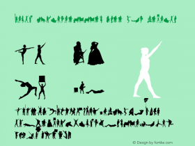 Human Silhouettes Free Two Regular Version 1.000 2013 initial release图片样张